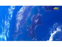 L'α7S II a capturé avec succès les toutes premières vidéos 4K prises dans l'espace avec un appareil de type commercial.