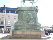 Postamentet under Kopparmärra.