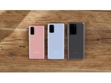 Galaxy S20-serien finns nu i butik – Samsungs bästa mobilkamera någonsin