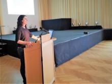 """Friederike Hansell beim ersten Basiskurs """"Welterbe"""" in Annaberg-Buchholz"""
