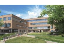 Visualisierung neues Kinder-Universitätsklinikum, Hamburg-Eppendorf