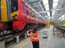 David Elston in depot 3