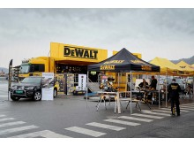 Yellow Demon Truck with DW tents