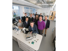 the team from Northumbria University and Epigem behind the KTP