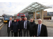 Opening of Hexham's new bus station