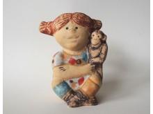 Pippi Långstrump i keramik av Lisa Larson