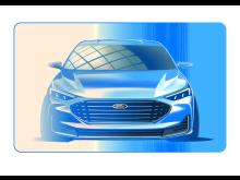 Ford Focus skisse Titanium 2021