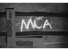 Bag strap markings