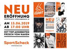 Neueröffnung der Hamburger SportScheck-Filiale am 13.06.2019 mit top Angeboten frisch vom Haken