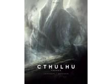 Cthulhu vaknar av Lovecraft, illustrerad av Baranger