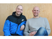 Simon Dahl and Mikael Östberg, founders Memotus