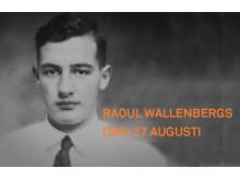Raoul Wallenbergs dag, 27 augusti