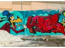 Graffiti av GraffitiSthlm