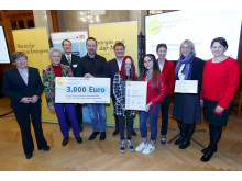 Bürgerenergiepreis Oberfranken_2019_Preisträger_Mittelschule_Hummeltal