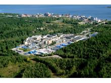 AkzoNobels anläggning i Sundsvall