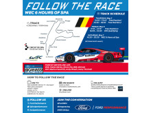 """Ford kører ræs ved """"WEC 6 Hours of Spa"""""""