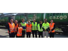 Utan tåget lyfter inte flyget Green Cargo_