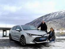 Nye Toyota Corolla Hybrid er klar for Narvik