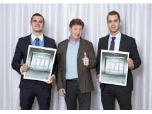 Stora FM-priset, vinnarna med handledare