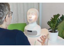 Tengai - the job interview robot