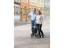 RUSSKA Rollator vital carbon