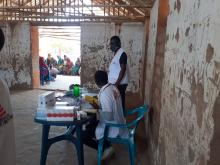 Läkare Utan Gränser driver mobila kliniker för interflyktingar i provinsen Capo Delgado, norra Moçambique. Foto: Joaqium Guinart/Läkare Utan Gränser