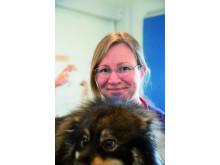 Veterinär Åsa Hauer på Evidensia Djurkliniken Frölunda
