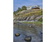 algeröds hus från vattnet