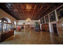 Blick in die Dauerausstellung des Stadtgeschichtlichen Museums Leipzig im Alten Rathaus