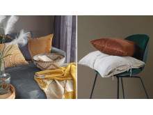 Calm House- rike tekstilser