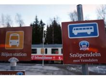 Röjan station