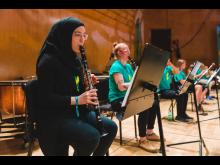 Side by Side: Digital. Musikläger i Göteborg 2020. Foto: Francis Löfvenholm.