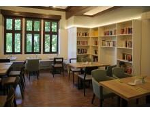 Integrationshotel Philippus - Frühstücksraum und Bibliothek
