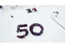 500 barn feirer Trysilfjellets 50-årsdag