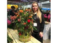 Linn Rosenstråle, deltagare under Createshop
