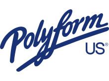 Polyform US - logo, blå