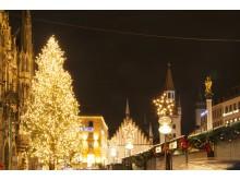 11. Weihnachtsbaum in München