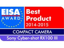 Vuoden 2014-2015 kompaktikamera Euroopassa: Cyber-shot RX100 III