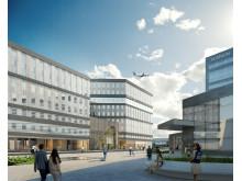 Visionsbild: Sandellsandberg arkitekter.