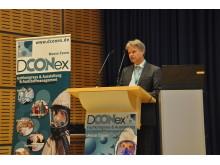 Da sich die DCONex in mehrere Vortragsblöcke gliedert, fasste Michael Henke, Management Programm B+B BAUEN IM BESTAND, auf der vergangenen DCONex die wesentlichen Kernbotschaften zusammen.