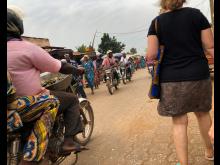 Turist i Benin