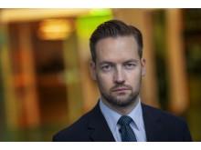 David Baas, nominerad i kategorin Årets Röst 2018