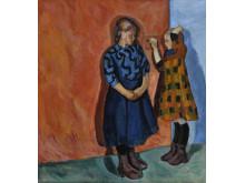 Henrik Sørensen, Anna og Hilda (1909). Lillehammer Kunstmuseum