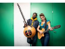 Pressbild Sousou & Maher Cissoko - 2019. Foto Jenny Baumgartner