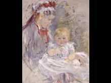 Berthe Morisot -Ammen, ca. 1880. Ny Carlsberg Glyptotek