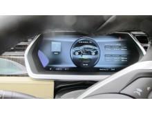Inför OECR 2013: Tesla Model S interiör