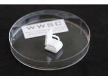 A cellulose object printed using a 3D bioprinter