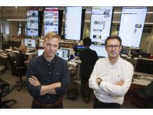 Mattias Carlsson och Mikael Delin, Dagens Nyheter, nominerade till Årets Avslöjande 2016