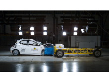 Toyota Yaris - Mobile Progressive Deformable Barrier test - Sept 2020