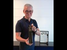 Frank Brormann und der German Innovation Award Gold 2020